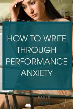 Do you have writing performance anxiety? You don't want your anxiety to keep you from writing! Check out these tips to write through your performance anxiety! #writingtips #writinganxiety #internaleditor | writing performance anxiety | writing anxiety | i Writing Quotes, Fiction Writing, Writing Advice, Writing Help, Writing Skills, Writing A Book, Writing Ideas, English Writing, Writing Workshop