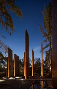 memorial to victims of violence, gaeta-springall arquitectos, chapultepec park, mexico city, 2013  sculpture meets landscape