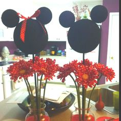 Mickey & Minnie I made for Jenavieve's First Birthday Party