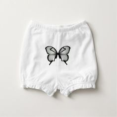 Valley Sage Huntsman Butterfly Diaper Cover - nursery ideas gift present idea diy individual customized