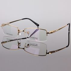 Men's fashion eyeglass gold frame ultralight titanium frames eye glasses frames for men optical frame 8253 Men's Optical, Optical Frames, Fashion Eye Glasses, Men Eyeglasses, Glasses Online, Mens Glasses, Glasses Frames, Eyewear, Mirrored Sunglasses