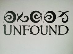 Dark Tower 8 Unfound Vinyl Decal Stephen King Runes Sigul