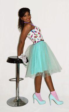 Mint tulle skirt Mint tutu Tulle circle by BlackSheepDesignsUK