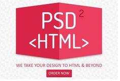 hiteshvaghasiya: convert psd To html for $5, on fiverr.com