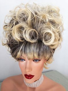 N- La Reina Drag Queen Wig. Created by New Attitude Wigs  | eBay