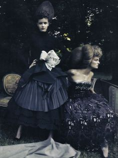 Paolo Roversi / Vogue Italia September 2009. #belle #epoque