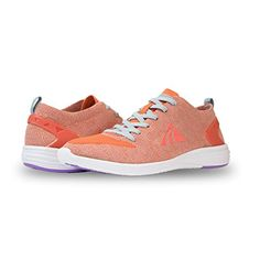Alicia Womens Lightweight Knit Running Shoes  Athletic Mesh Comfortable Walking Shoes  Great for Sports and Outdoor Activities * You can find out more details at the link of the image.