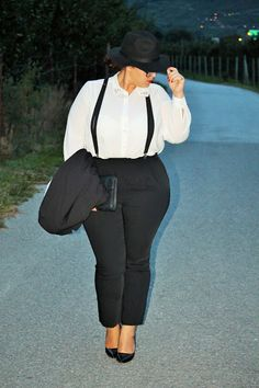 A Plus Size Girl Who Loves Fashion: French Curves Challenge - BOYISH