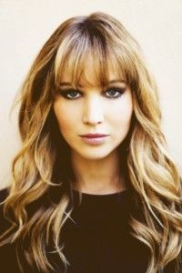 Jennifer Lawrence  my go-to haircut if not plain straight
