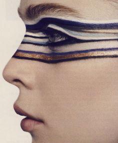 pikeys: Optical Line for Vogue Paris S/S 2007