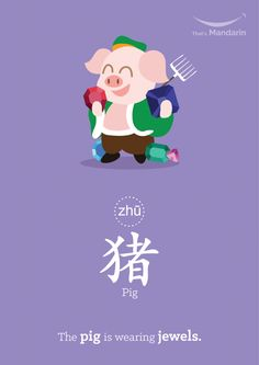Link Word: The 12 Chinese Animal Zodiacs | That's Mandarin