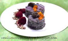 Słodko i wytrawnie. : Lekkie śniadanie : Borówkowo-ryżowe krążki  słodzo...