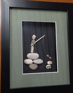 DIY Pebble art ( gülen) #PebbleArt #RockArt #StoneArt #DIY