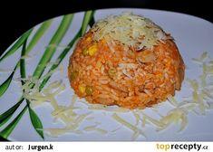 Domácí rizoto recept - TopRecepty.cz Baked Potato, Mashed Potatoes, Grains, Food And Drink, Treats, Ethnic Recipes, Bakken, Whipped Potatoes, Sweet Like Candy