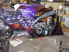 Reaper on Harley