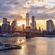 Downtown Manhattan by @nydrayton