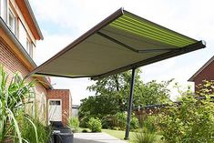 The innovative awning shield *markilux planet*
