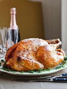 Made this last week, best turkey ever!! so delicious and moist! wil be my go to thanksgiving turkey recip for years to come. found truffle butter at fresh market. Sarah Leah chase's turkey with truffle butter - Ina Garten said best turkey ever