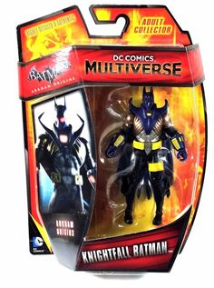 DC Comics Multiverse Batman Arkham Origins - Knightfall Batman 4 inches  Action Figure