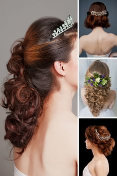 Wedding Hair Concepts - The Most Beautiful Looks To Work On Your Wedding Day.  Look At Our Favorite Site For More Important Information.
