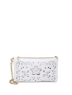 9a11781ed Valentino fuchsia lace-covered leather-studded shoulder bag on ...