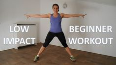 20 Minute Low Impact Workout Routine For Beginners – Fat Burning Workout...