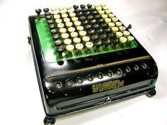 Great conversation piece!!!   Antique calculator!!
