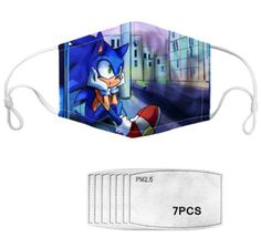 With adjustable ear loops, this is the perfect mask for your kids especially a speedy Sonic fan! Each mask comes with seven filters. If you choose to wear these mask with the filters, we recommend that you change the filters after one week. Fashion Mask, Ear Loop, You Choose, You Changed, Filters, Cool Designs, Australia, Fan, Stylish