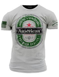 The American T-Shirt- Grunt Style Men s Short Sleeve Tee Shirt Grunt Style 0dd357211d