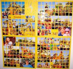 Image Detail for - Disney and Orlando Vacation Scrapbook Pages - Sherry's Layout