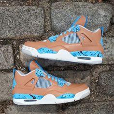 Air Jordan IV (4) Freestyle Customs by Ecentrik Artistry | SneakerFiles