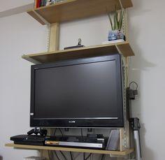 【DIY】賃貸でも諦めるな!壁に棚を設置する方法。 | テックインライフ