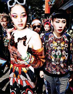 Vogue Japan Editorial November 2014 - Chiharu Okunugi by Mario Testino