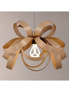 Buy Oak Tom Raffield Skipper Pendant Light, from our Ceiling Lighting range at John Lewis & Partners. Copper Pendant Lights, Pendant Lighting, Tom Raffield, Flush Ceiling Lights, Ceiling Lighting, Wood Lamps, Butterfly Pendant, Curtains With Blinds, Toms