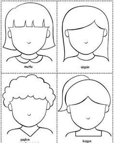 Preschool Activity World :): My Emotions, Emotions Preschool, Teaching Emotions, Emotions Activities, Preschool Learning Activities, Preschool Worksheets, Toddler Activities, Preschool Activities, Teaching Kids, Feelings And Emotions