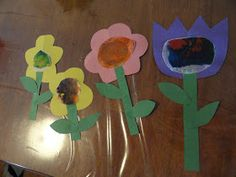 One Hot Crafty-Mama: Spring Craft with Kids