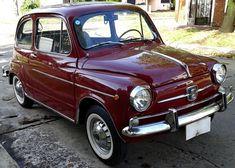 Fiat 600 E modelo 1967. Fue restaurado en el 2008, sólo se lo peló a fondo y se pintó. La mecánica no fue tocada, sólo le hice frenos, cambio de bomba de agua y un manchón. Está en estado impecable, arranca perfecto y tiene exelente andar, sin ruidos y muy sereno. Las cubiertas están nuevas, tapizados increibles, cromados perfectos. Soy titular y el precio de venta incluye la transferencia. Fiat 600, Retro Cars, Vintage Cars, Antique Cars For Sale, Automobile, Fiat Cars, Roadster, Car Racer, Fiat Abarth