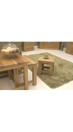 mobel oak solid oak nest of 3 coffee tables coffee table next 3 coffee tables