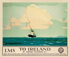To Ireland - LMS - (Norman Wilkinson) -