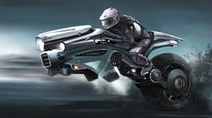 Motorcycle Of The Future Wallpaper Futuristic Motorcycle, Futuristic Art, Anime Motorcycle, Cyberpunk, Motorcycle Design, Bike Design, Scooter Design, Hover Bike, Hover Car