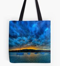 Blue Storm - Newport - The HDR Experience Tote Bag