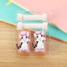 Creative Cartoon Kawaii Animal Hello Kitty Batman USB Cable Earphone Line Saver For Mobile Phone Charging Data Line Protector DM