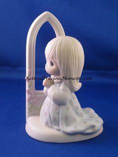 O Worship The Lord - Precious Moment Figurine Current Value $60.00 on sale for $30