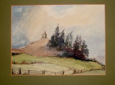 Vintage Art 1980s Woodland Countryside by QueensParkVintage, $45.00