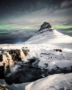 In all honesty it's not really that hard to be @inspiredbyiceland. Last night at Kirkjufell.  #inspiredbyiceland #westiceland by wisslaren