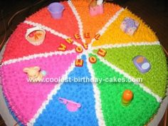 Webkinz Wheel of Wow cake great for girls or boys parties!