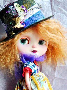 ON SALE Ooak Harriet custom Icy by Maggi by BlytheinWonderland