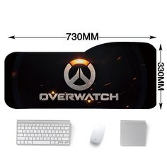 Overwatch Large mouse pad desk mat 730*330mm