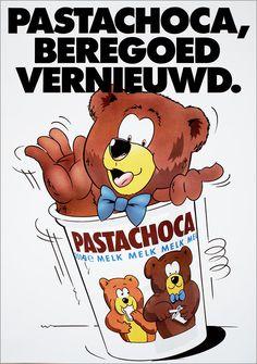 """""""Ik zag 2 beren broodjes smeren, oh het was een wonder ..."""" Chocolade Pasta"""