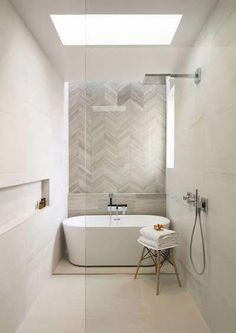 Beautiful bathroom decor tips. Modern Farmhouse, Rustic Modern, Classic, light and airy master bathroom design some ideas. Bathroom makeover ideas and master bathroom remodel suggestions. Master Bathroom Renovation, Bathroom Layout, Bathroom Interior, Bathroom Decor, Greige Bathroom, House, Luxury Bathroom, Bathroom Interior Design, Bathroom Renovations